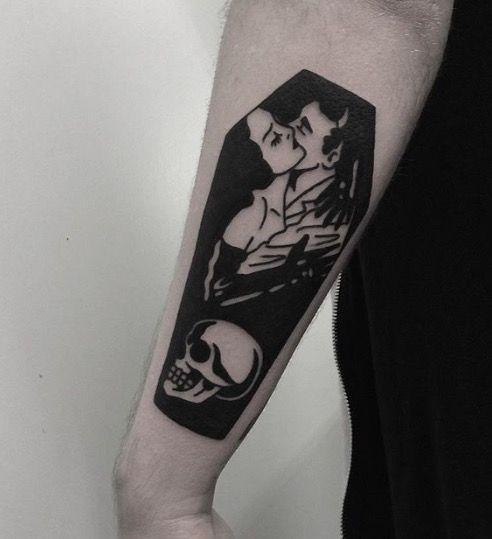 Tatouage Gothiques Homme (2)
