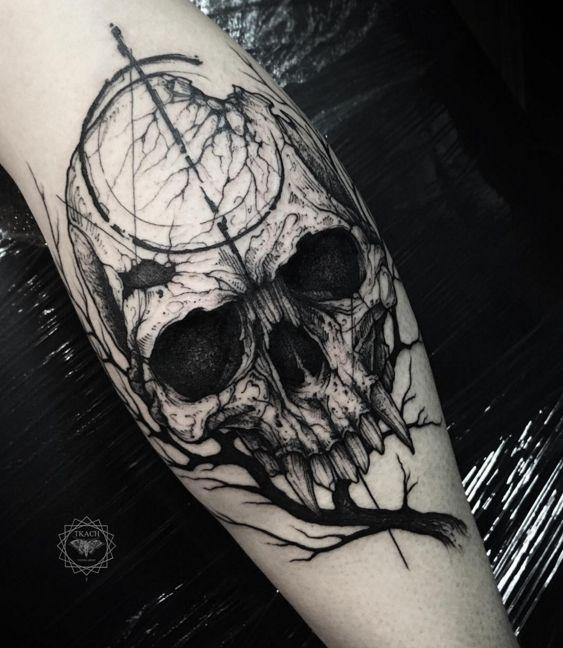 Tatouage Gothiques Homme (3)