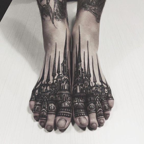 Tatouage Gothiques Homme (8)