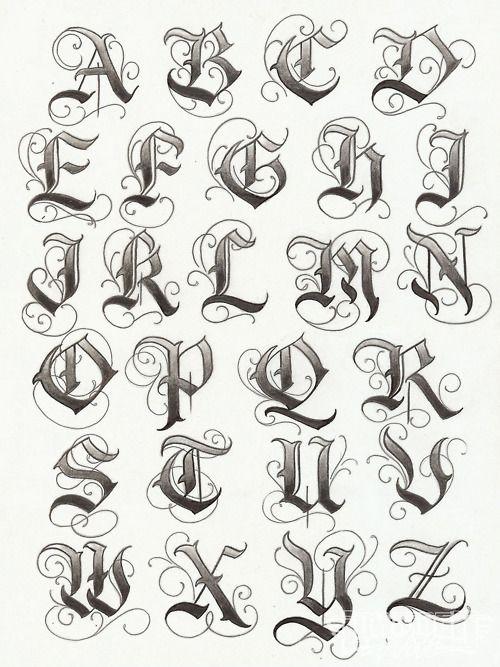 Tatouage Gothiques Phrases (8)