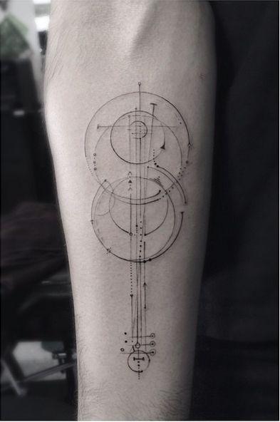 Tatouage Guitare Acoustique (1)