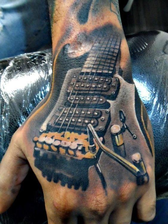 Tatouage Guitare électrique (8)