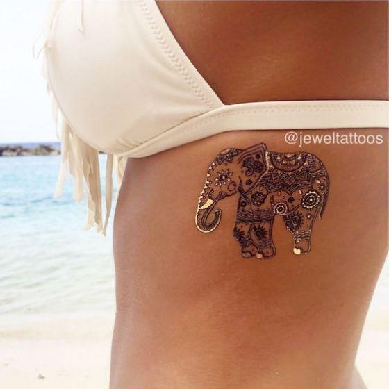 Tatouage Henne (2)