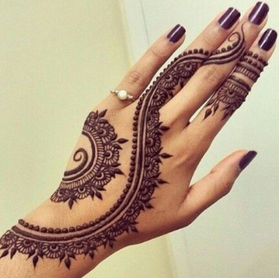 Tatouage Henne Main (4)