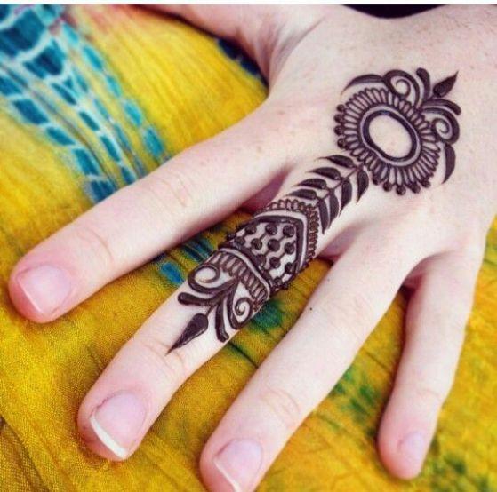 Tatouage Henne Main (8)