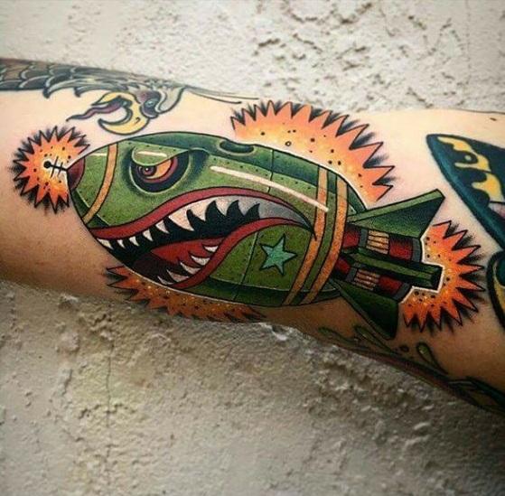 Tatouage Homme Bras (14)