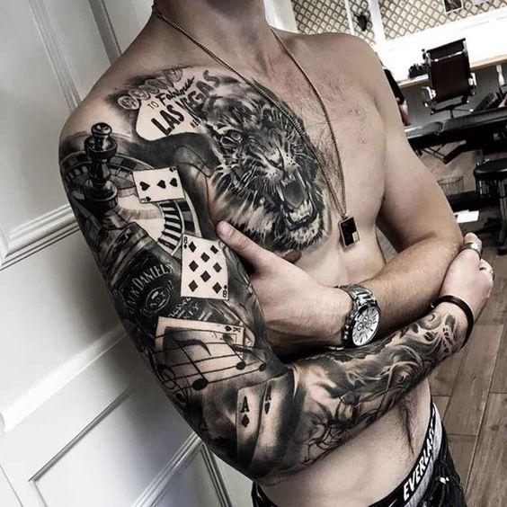 Tatouage Homme Bras (9)