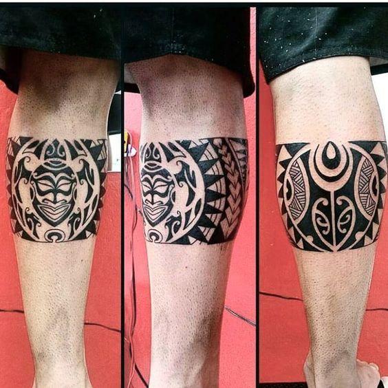 Tatouage Homme Jambe (2)