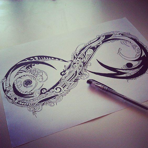 Tatouage Infini Design (3)