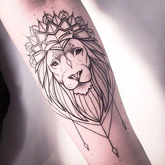 Tatouage Lion Bras (4)