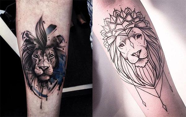 Tatouage Lion Bras (8)