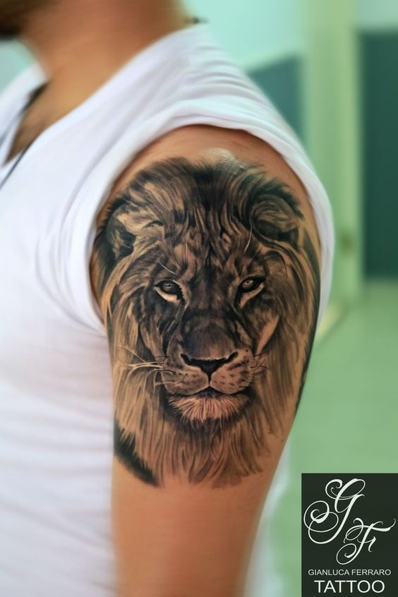 Tatouage Lion Bras (9)