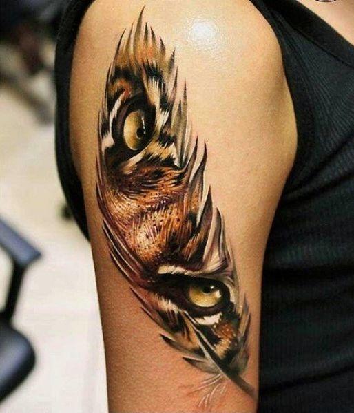 Tatouage Lion Couleurs (3)