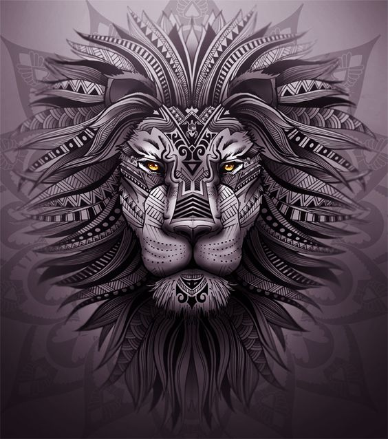 Tatouage Lion Design (4)
