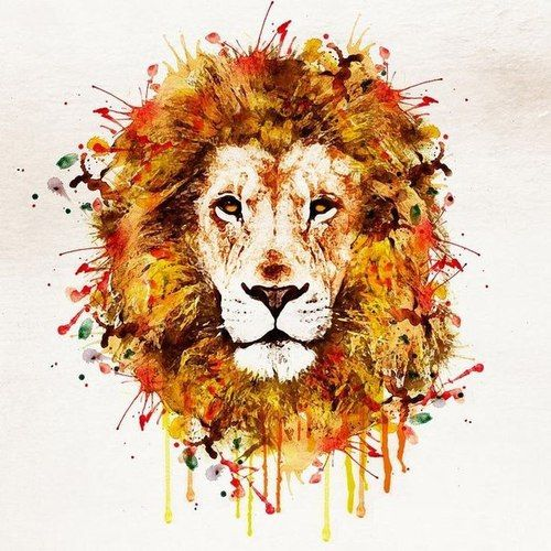 Tatouage Lion Design (5)
