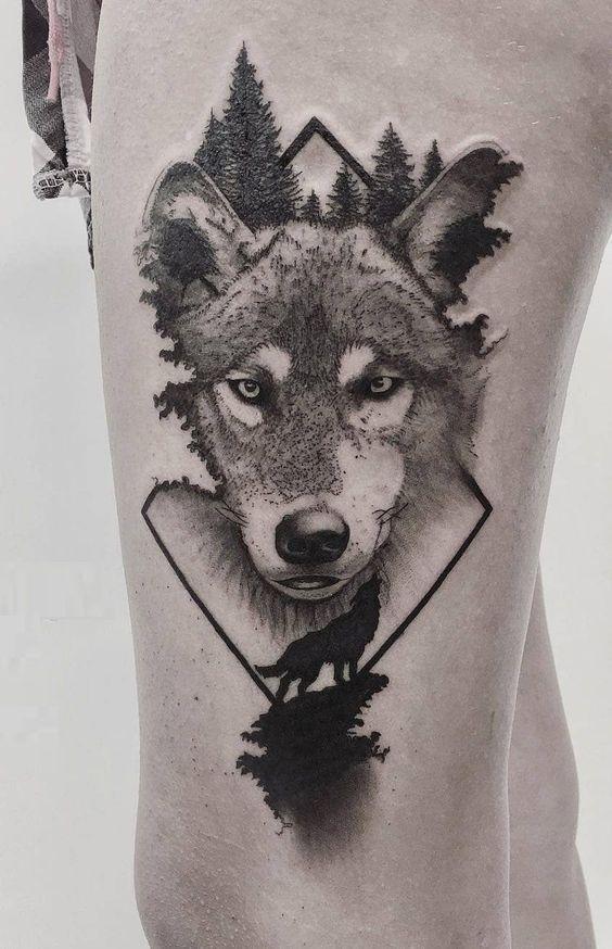 Tatouage Loup Avant Bras (4)