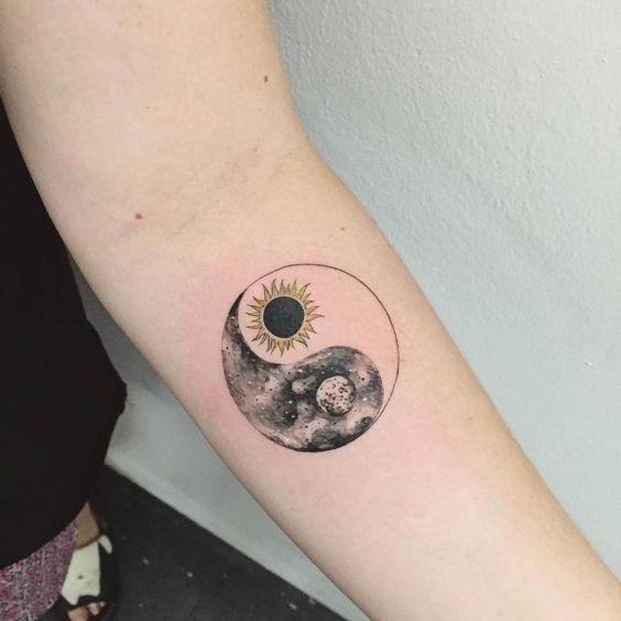 Tatouage Lune Soleil (3)