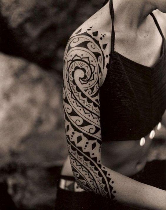 Tatouage Maori Bras (4)