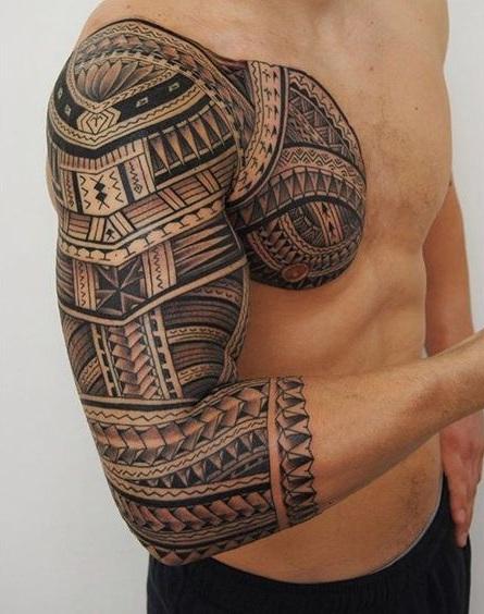 Tatouage Maori Bras (6)