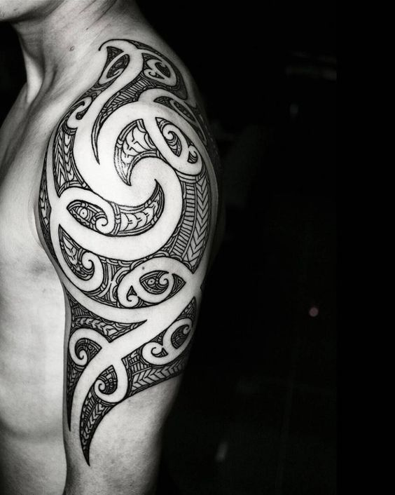 Tatouage Maori Epaule (1)