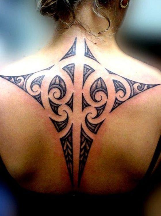 Tatouage Maori Femme (2)