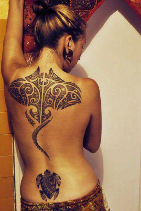 Tatouage Maori Femme (5)