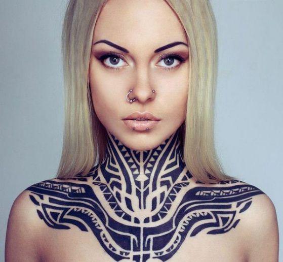 Tatouage Maori Femme (9)