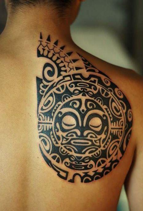 Tatouage Maorie (1)