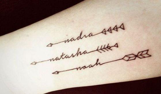 Tatouage Noms Bras (3)