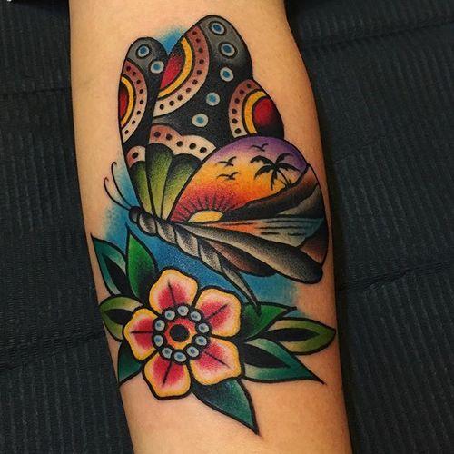 Tatouage Papillon (1)