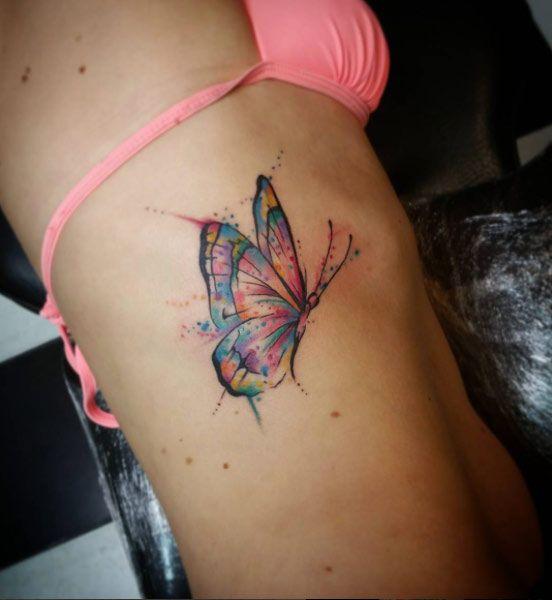 Tatouage Papillon (5)
