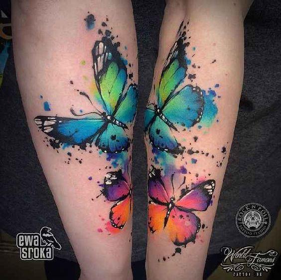 Tatouage Papillon (8)