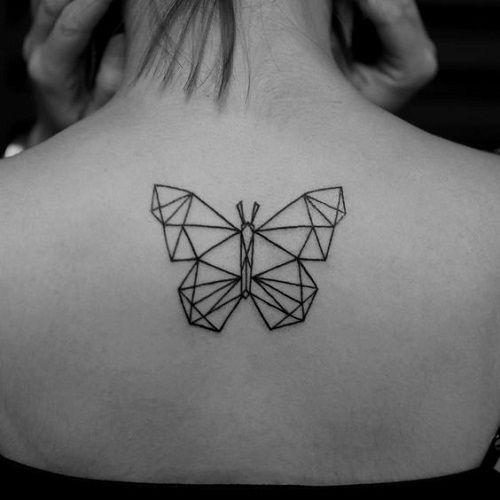Tatouage Papillon Dos (2)