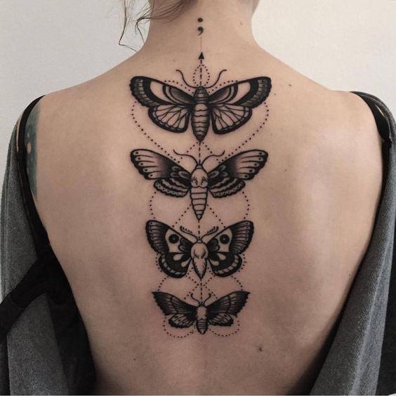 Tatouage Papillon Dos (3)
