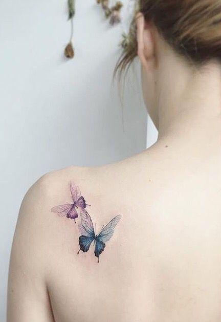 Tatouage Papillon Dos (4)