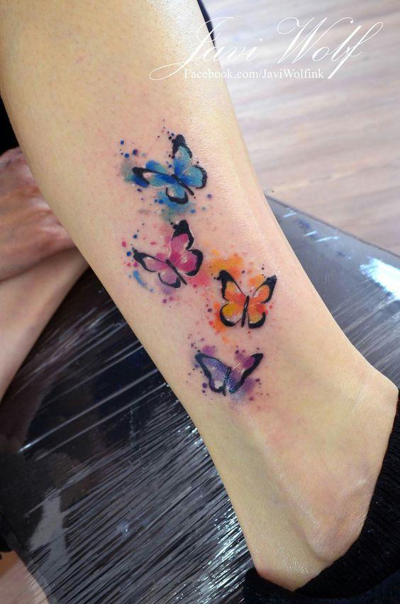 Tatouage Papillon Petit (3)