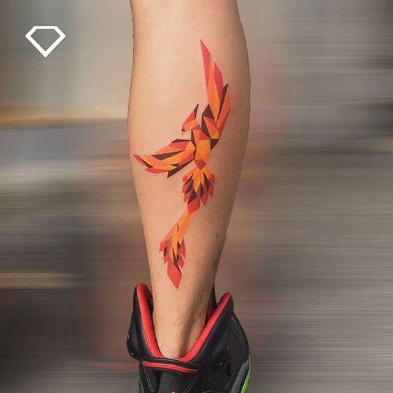 Tatouage Phoenix Couleur (2)
