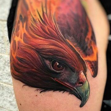 Tatouage Phoenix Couleur (5)