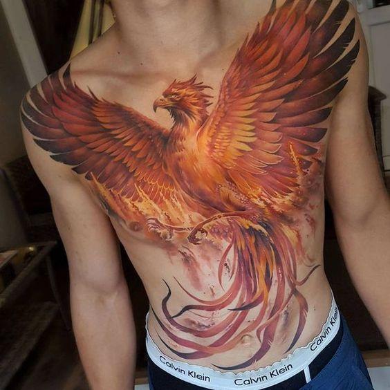 Tatouage Phoenix Homme (4)