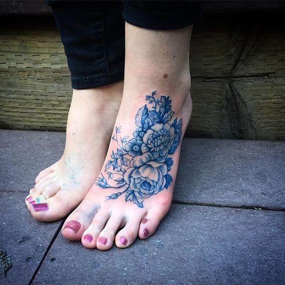 Tatouage Pied Femme (14)