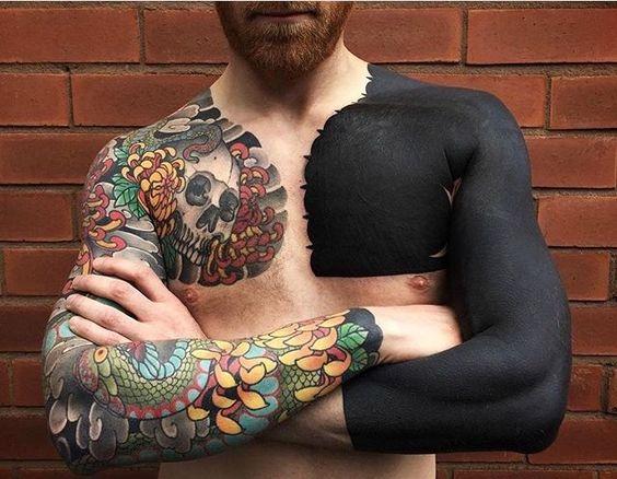 Tatouage Poitrine Homme (6)