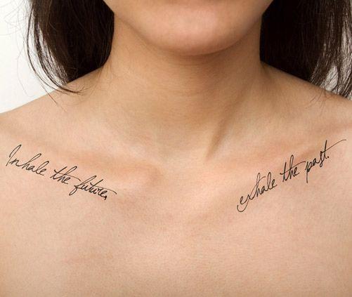 Tatouage Poitrine Phrases (3)