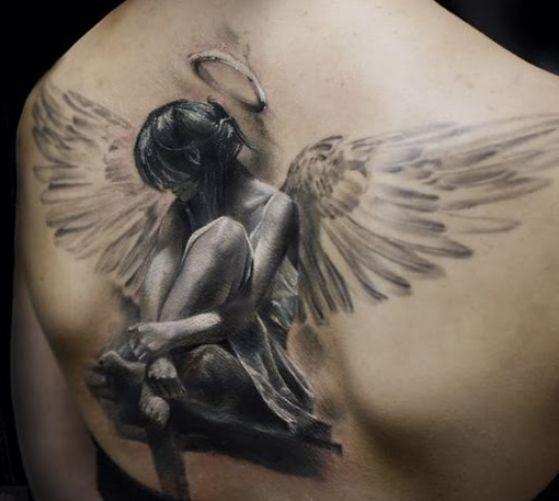 Tatouage Religieux Ange (1)