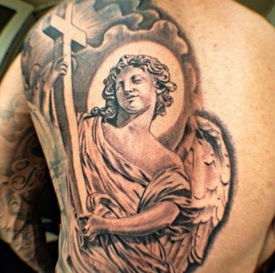 Tatouage Religieux Ange (2)