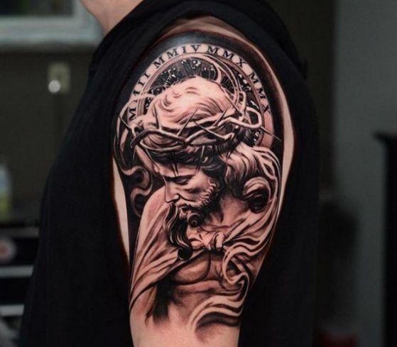 Tatouage Religieux Bras (4)