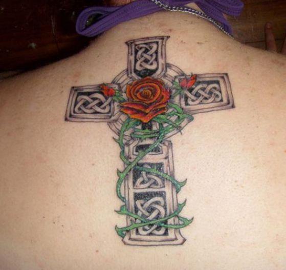 Tatouage Religieux Croix (3)