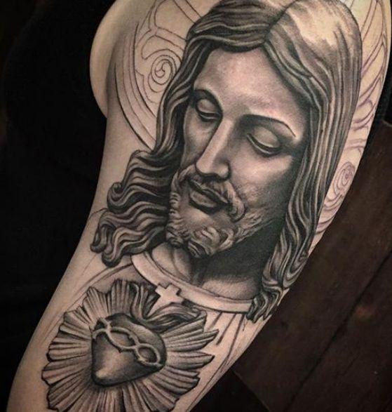 Tatouage Religieux Homme (1)