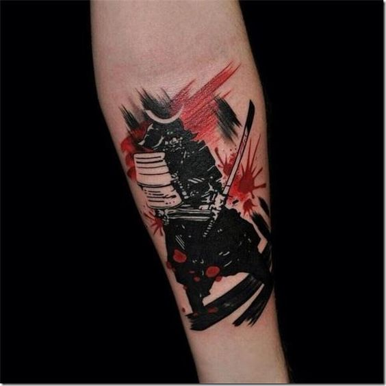 Tatouage Samourai Avant Bras (4)