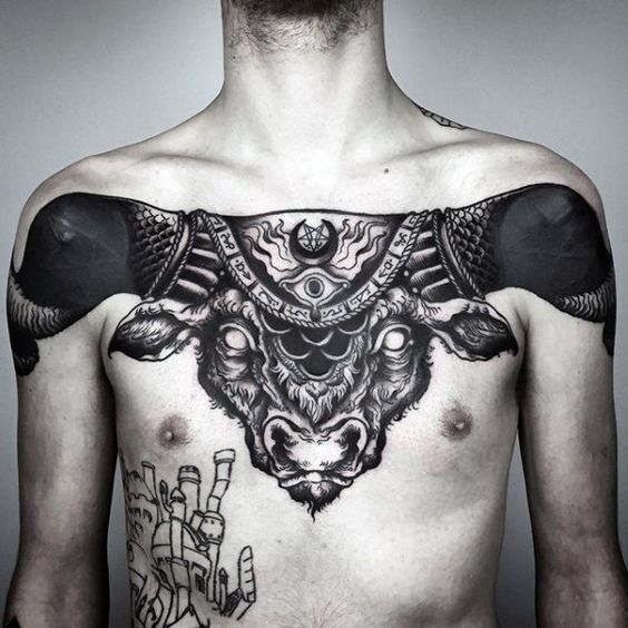 Tatouage Taureau (1)