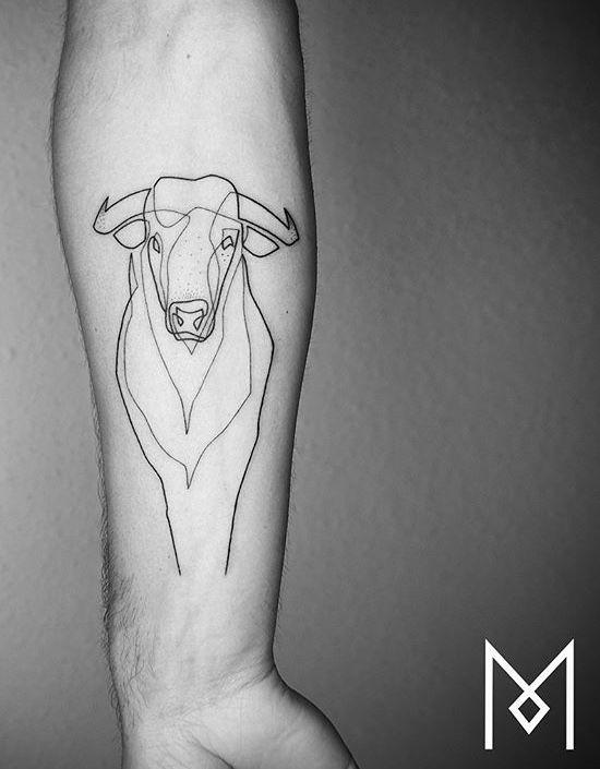 Tatouage Taureau Bras (1)
